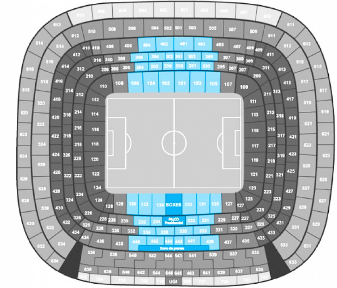 Real Madrid - Sevilla. - Tribuna 1°/2° Anello Centrale